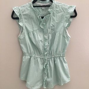 Odille Striped Blouse